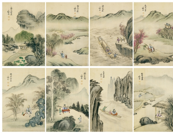 Painting album by Joseon master painter to go on block next month