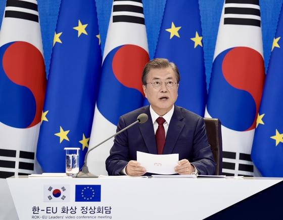 Korea, EU agree to strengthen ties, COVID-19 response