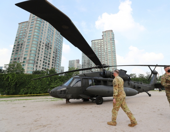 USFK chopper makes emergency landing, no injuries reported