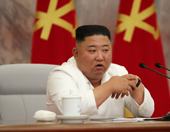 NK leader warns against complacency in COVID-19 prevention