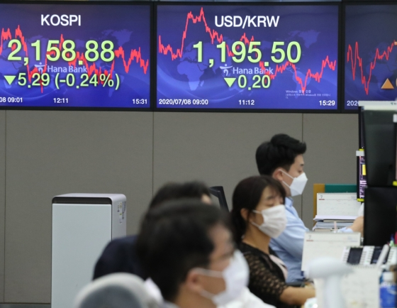Seoul stocks down for 2nd day on economic recovery concerns