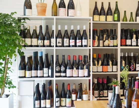 Natural wines at Vinosn