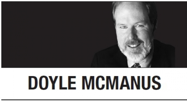 [Doyle Mcmanus] Trump's Orwellian doublespeak on Iran