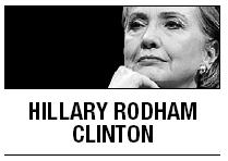 [Hillary Rodham Clinton] Empowering women helps global growth