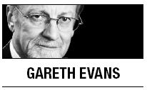 [Gareth Evans] Stick to the U.N. resolution on Libya