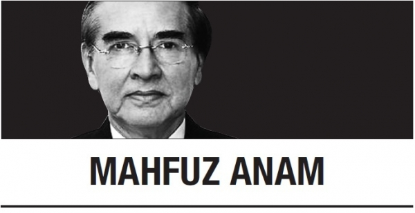 [Mahfuz Anam] 'Praise Freedom' is new press freedom