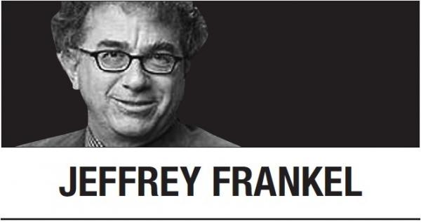 [Jeffrey Frankel]  a weaponized dollar could backfire