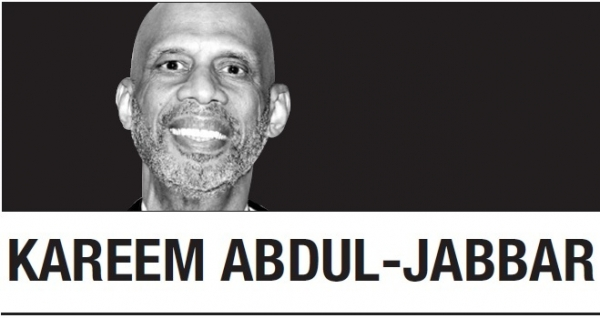 [Kareem Abdul-Jabbar] What you're seeing is people pushed to the edge