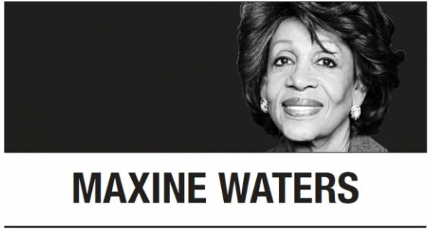 [Maxine Waters] I'm not new to this