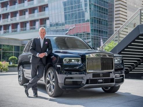 "Korea plays ""instrumental role"" for Rolls Royce: CEO"