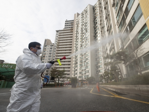 Disinfection requests surge as coronavirus spreads