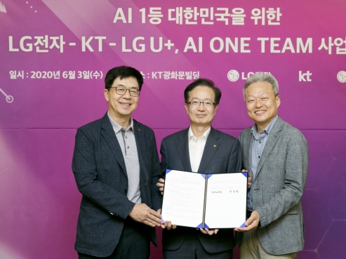 Korean tech firms join forces to reinforce AI capabilities