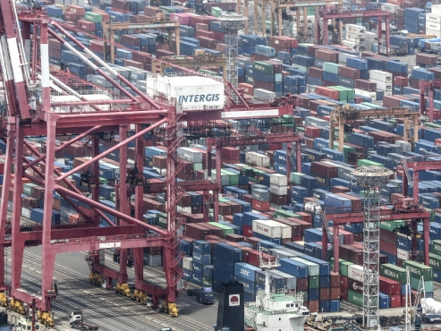 Exports continue to fall in June but show signs of recovery