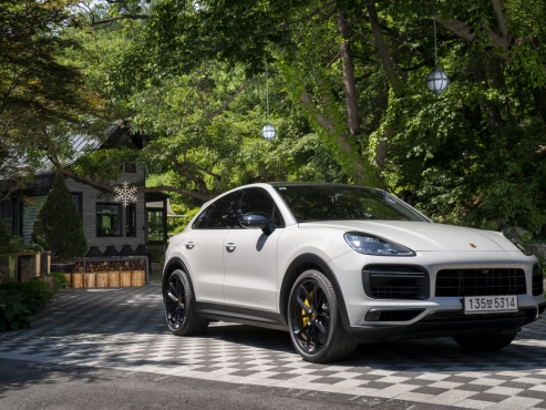 Porsche offers fun and comfort with Cayenne Coupe