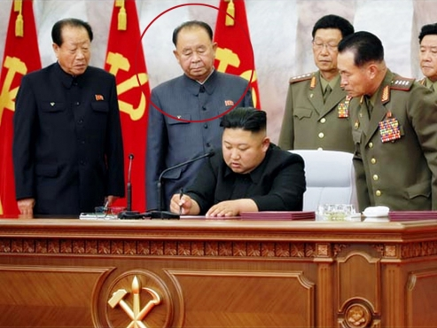 Leader of missile development rises to NK's No. 5