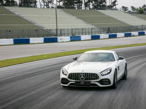 Mercedes-Benz's upgraded AMG GT gives more invigorating drive