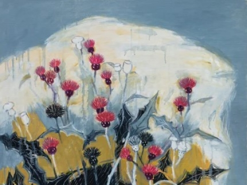 Wild flowers the love of 94-year-old painter