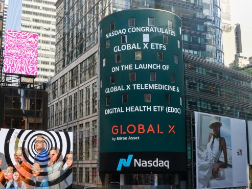Global X lists telemedicine, digital health ETF on Nasdaq