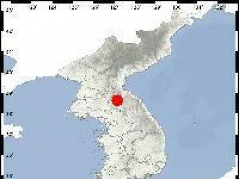 2.0 magnitude quake hits southern N. Korea, central S. Korea