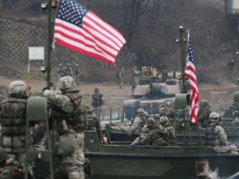 'No discussion of US troop withdrawal at State Dept.'