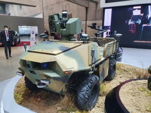 Drones the highlight of DX Korea defense expo