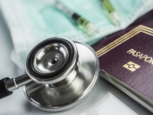 Health and tech giants meet for 'vaccination passports'