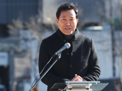 Former Seoul Mayor Oh Se-hoon to run in by-election