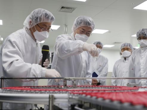 Korea eyes Novavax deal for 20 million people: Moon