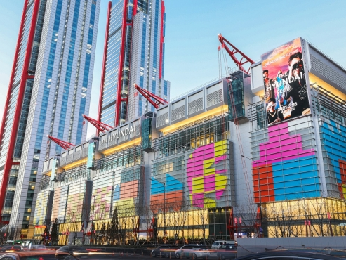 Seoul's newest, biggest department store offers new shopping experience