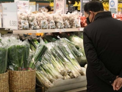 S. Korea's food prices show 4th-highest increase among OECD states