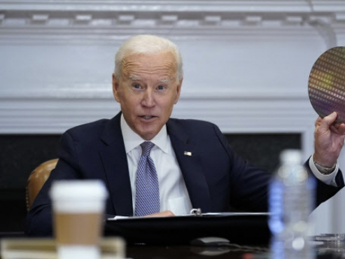 Pressure on Samsung as Biden says he wants plants in US, not China