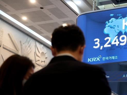 Kospi closes at fresh high of 3,249.30