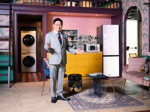 Samsung's Bespoke appliances make global debut