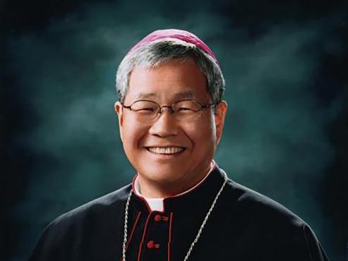 Moon congratulates Korean archbishop on appointment to Vatican secretary position