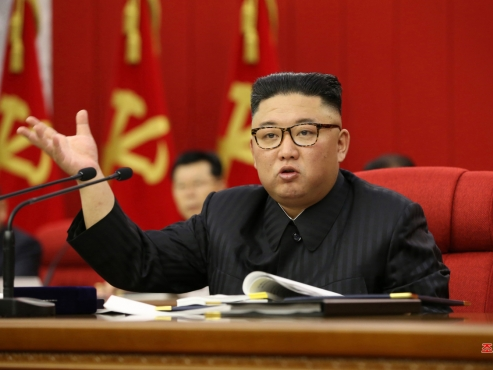NK ruling party meeting tackles food shortage, 'current international situation'