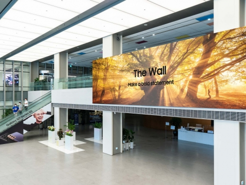 Samsung Electronics unveils 1,000-inch commercial micro LED display
