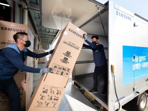Samsung sees sales of air conditioners double amid heatwave