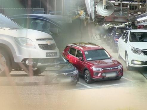 S. Korean units of foreign auto trio suffer worst slump in over 2 decades