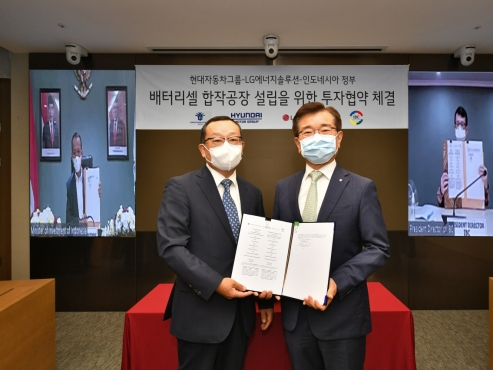 Hyundai, LG collaborate to build EV battery plant in Indonesia