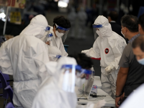 2,189 new COVID-19 cases confirmed in S. Korea as of 6 p.m., new record-high daily count expected