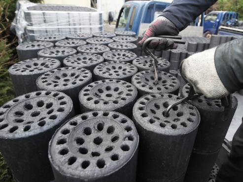 Coal briquette consumption projected to hit record low this year