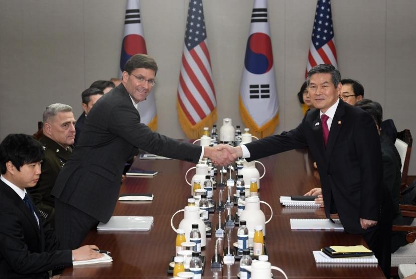 S. Korea, US hold annual defense ministers' talks