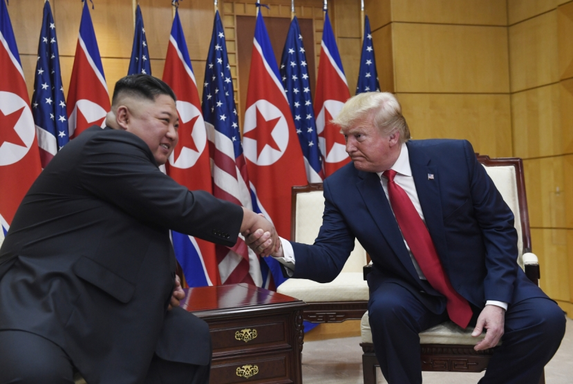 Trump says open to third summit with Kim: report