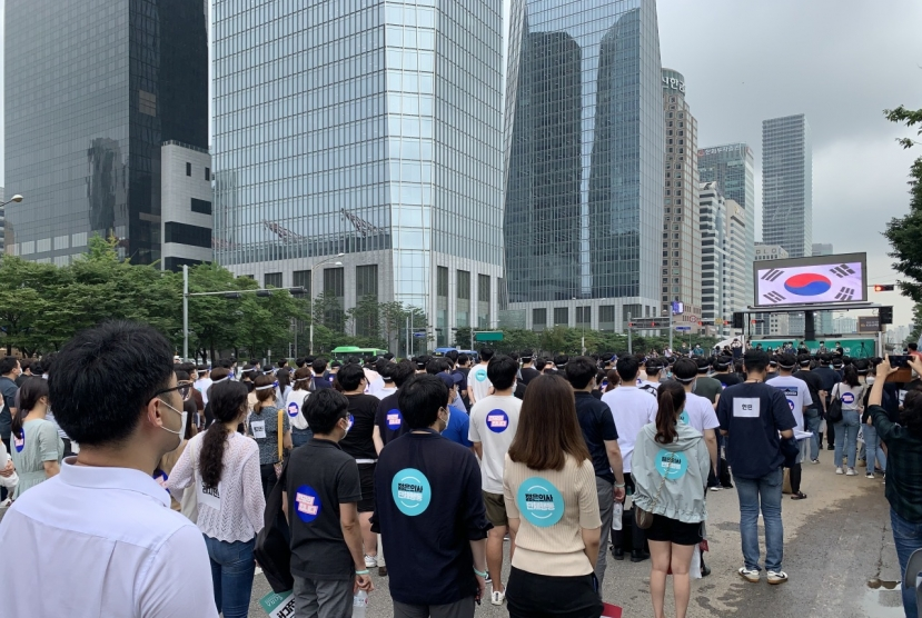Why are Korean doctors striking?