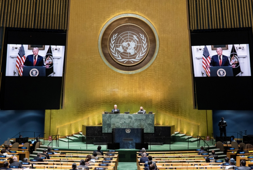 Trump skips NK for first time in UN speech