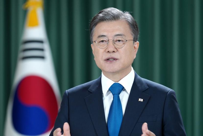 Moon calls for UN's support for ending Korean War