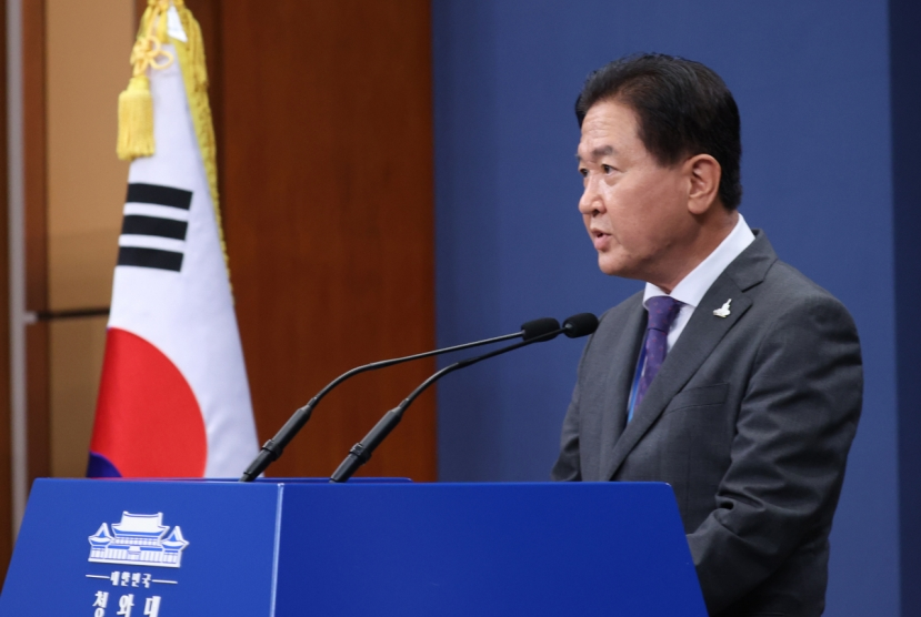 Moon briefed 4 times on killed civil servant, UN message too late to be changed: Cheong Wa Dae
