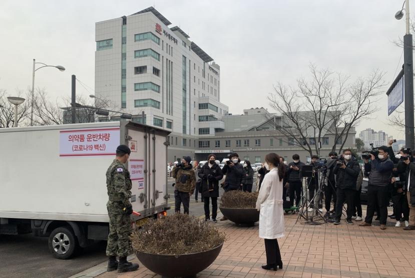 One day to go: AstraZeneca vaccines distributed across Korea