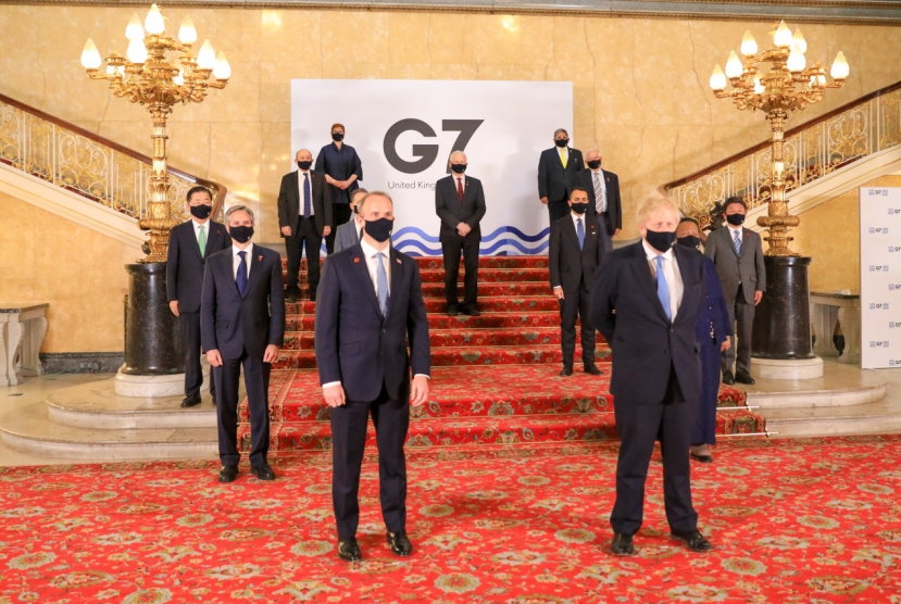 Foreign minister calls for greater vaccine cooperation at G-7 summit