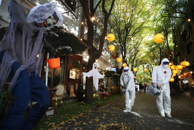 Korea's Halloween COVID-19 warnings accused of targeting foreigners